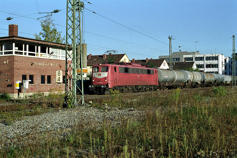 150 168 bei km 8,4 (September 2002)