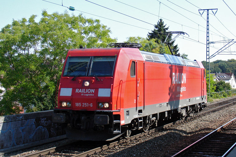 185 251 bei km 16,8 (September 2009)