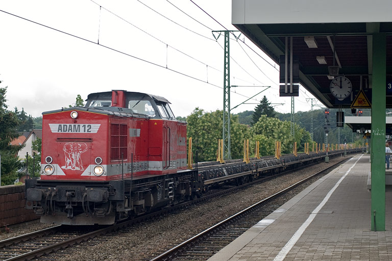 Adam 12 (ex-DR 202 738) bei km 16,6 (August 2009)