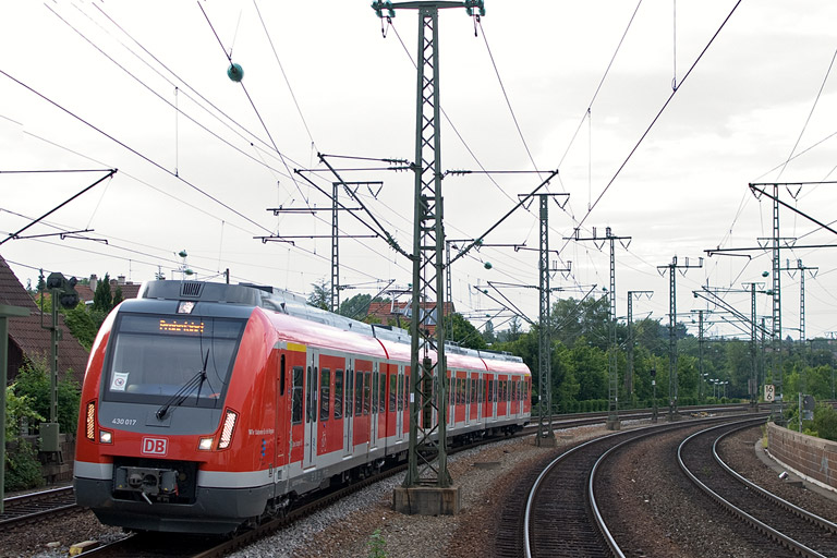 430 017 in Stuttgart-Rohr (August 2012)