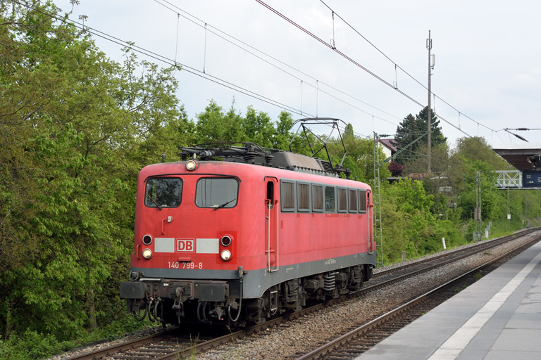 140 799 bei km 14,2 (April 2014)