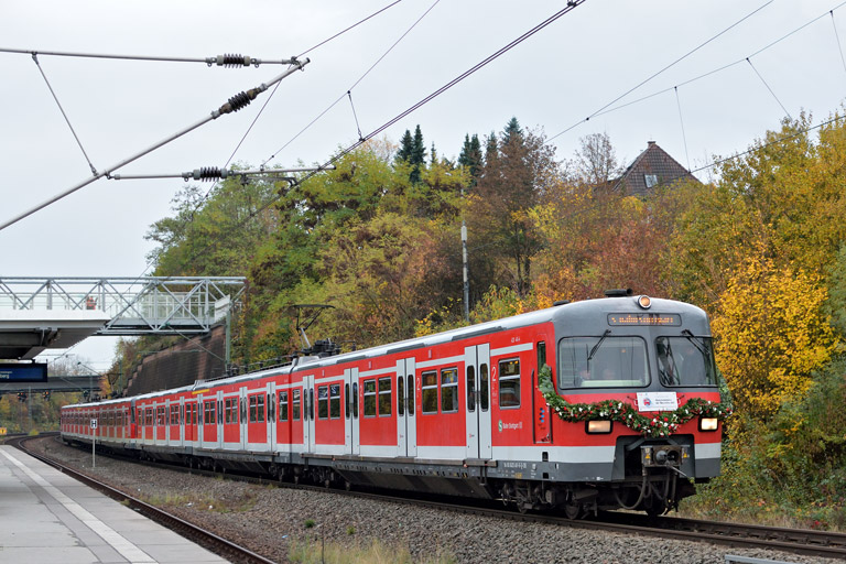 420 461 in Stuttgart-Vaihingen (November 2016)