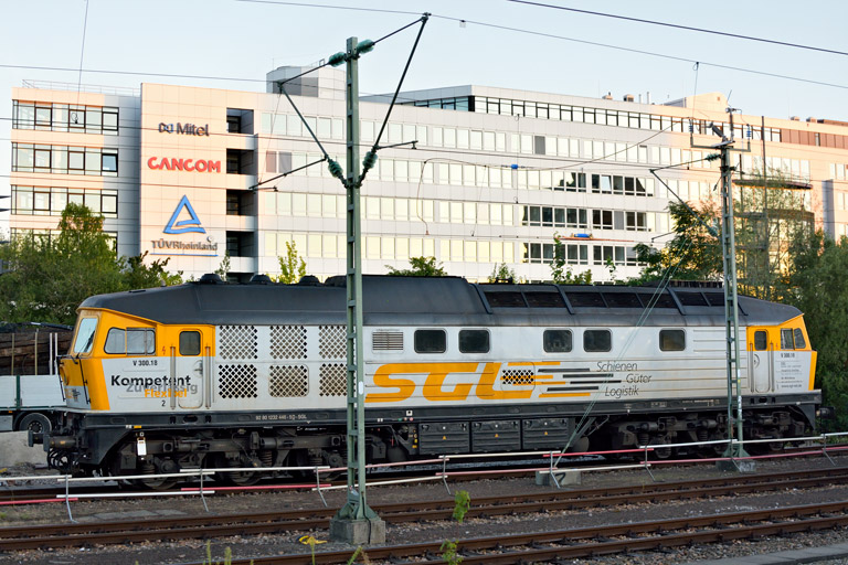 SGL V300.18 bei km 15,6 (September 2019)